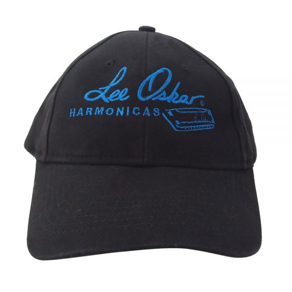 lee-oskar-harmonicas-blue-logo-baseball-cap