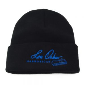 lee-oskar-harmonicas-blue-logo-ski-cap